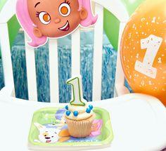 #BubbleGuppies #cupcake #BirthdayExpress