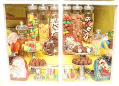 Candy shop window