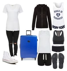 """going to hospital"" by haley-abernethy on Polyvore featuring Cotton Citizen, Converse, Longchamp, Havaianas, George, NIKE and New Look"