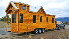 For those who like the thought of living in a compact space but don't want to get too cramped, the Custom 30 Foot House by Colorado-based Rocky Mountain Tiny Houses may be of interest.