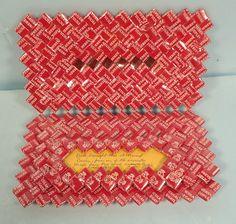 Vtg 1973 Menard Prison Art Folded Pall Mall Cigarette Pack Wrappers Wallet from eBay  | Tramp Art, Hobo Art, Prison Art
