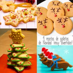 recetas divertidad de galletas de navidad                                                                                                                                                                                 Más