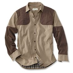 Lined Canvas Upland Long-Sleeved Shirt | Orvis $100