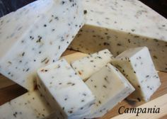 Mozzarella Campania Campania is a variation of the soymilk-based firm mozzarella from The Non-Dairy Formulary. It's flavored with dried oreg...