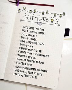 21 Motivational Self-Care Bullet Journal Pages You'll Want to Try - The Petite P. - 21 Motivational Self-Care Bullet Journal Pages You'll Want to Try – The Petite Planner - Self Care Bullet Journal, Bullet Journal 2020, Bullet Journal Notebook, Bullet Journal Aesthetic, Bullet Journal Spread, Bullet Journal Inspo, My Journal, Journal Pages, Bullet Journal Anxiety