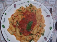 Rigatoni with Roaste