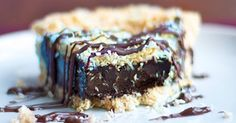 Girl Scout Cookie Pie.  From Chocolate Covered Katie.  What a talent for all of us who can't eat wheat, gluten, eggs, dairy.  I love your recipes Katie!