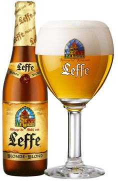 Leffe Blonde Beer information, factsheet and opinions, from brewery Abbaye de Leffe, Belgium. Beer Brewing Kits, Home Brewing, Beer Brewery, Belgian Beer Cafe, Dark Beer, Beers Of The World, Beer Snob, Beer Brands, How To Make Beer