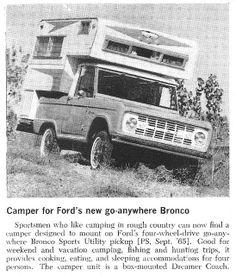 1966 Bronco Camper Ad   Flickr - Photo Sharing!
