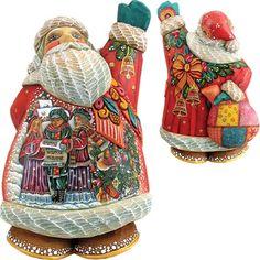 Derevo Christmas Chorus Santa