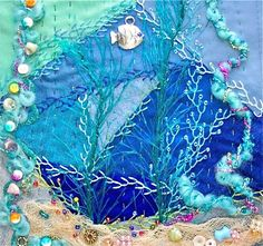 """This blog is a showcase of crazy quilting work by the members of the """"Crazy Quilting International"""" Yahoo group.  Members include stitchers from all over the world.  We would love to have you join us - either as a stitcher, or just as an interested viewer.  Have a seat and enjoy!"""