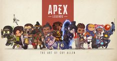 Cool Car Drawings, Legend Images, Electronic Arts, Christmas Ad, Bloodhound, Video Game Art, Cool Wallpaper, Cute Art, Chibi