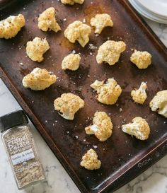 Here's the other new recipe we posted today: AIP-friendly Roasted Cauliflower with our Garlic & Herb Seasoning and @kasandrinos EVOO. This was ridiculously easy to make! Link in profile to get the recipe and the spices   #primalpalatespices #kevoo #aippaleo