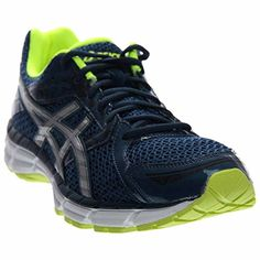 separation shoes 4a791 a647f ASICS Men s GEL Excite 3 Running Shoe, Ink Silver Flash Yellow, 10.5 M US