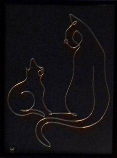 Wire Art Sculpture, Horse Sculpture, Crochet Earrings Pattern, Simple Line Drawings, Steel Art, Craft Show Ideas, Art Template, Welding Art, Wire Crafts