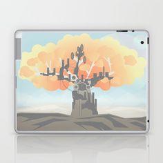 Machine Tree Laptop & iPad Skin by NothingAD  | Society6