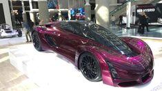 The Hottest Cars at the LA Auto Show 2016