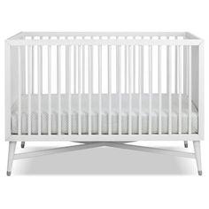 Finley Convertible Crib - White