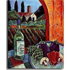 Rhonda Ahrens 'Pinot Grigio' Art