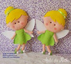 Boneca Sininho(Tinker Bell) com molde