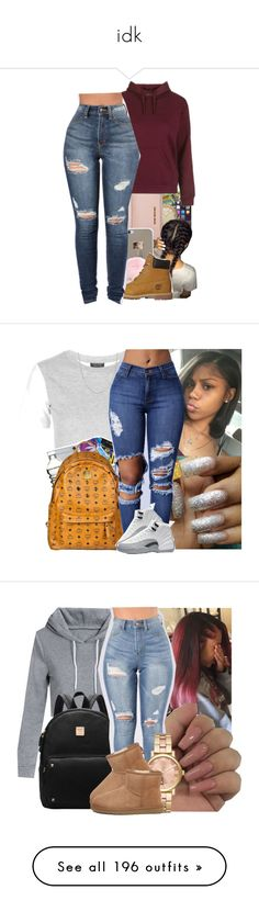 """idk"" by emojilit ❤ liked on Polyvore featuring Marc by Marc Jacobs, MICHAEL Michael Kors, Topshop, Timberland, Fremada, Michael Kors, UGG, Accessorize, Cotton Candy and Puma"