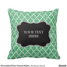 Personalized Your Custom Polyester Cushion