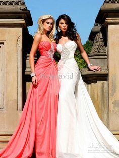 Customized Sweetheart Beaded Evening Dresses 2013 Chiffon A Line Ruched Cross Floor Length 92139 Dresses Formal Dresses Long From Bestdavid, $125.21| Dhgate.Com