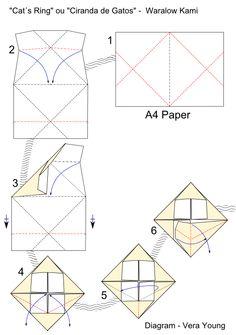 """Diagrama """"Ciranda de Gatos"""", de Waralow Kami pg 1"""