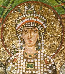 Ravenna - The Basilica of St. Vitale (The Empress Theodora - Detail)