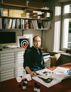 Christoph Niemann im Interview mit PAGE New York Times, Christoph Niemann, Paula Scher, Douglas Elliman, Page Online, Business Portrait, Star Art, The New Yorker, Art Direction