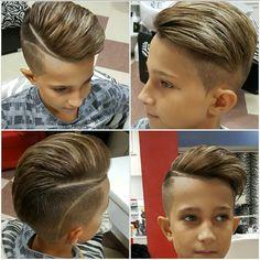 Чоловічі стрижки - Men's style, accessories, mens fashion trends 2020 Boys Haircuts With Designs, Boys Haircut Styles, Cool Boys Haircuts, Haircuts For Men, Men's Haircuts, Boys Haircuts Trendy 2018, Hipster Hairstyles, Boys Long Hairstyles, Grey Hair Boy