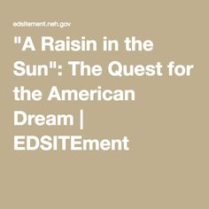 raisin in the sun research paper Raisin in the sun andrea thomas a raisin in the sun was an awesome book about many things, it was about a black family struggling with economic hardship and racial prejudice, this play showed the importance of family, the value of dreams, and about racial discrimination.
