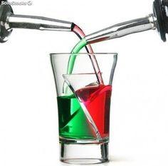 Vasos de chupitos Twister Shots - Doble bebida
