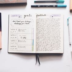 How to: bullet journal for more productivity • Miss Caffeinated