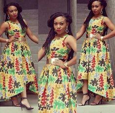 Love her ankara dress Latest African Fashion, African Prints, African fashion styles, African clothing, Nigerian style, Ghanaian fashion, African women dresses, African Bags, African shoes, Nigerian fashion, Ankara, Aso okè, Kenté, brocade etc DK
