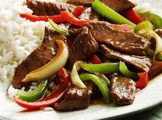 My dad's fav...he would order this every time we went to a Chinese restaurant.  Classic Chinese Pepper Steak Recipe
