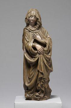 Maria einer Kreuzigungsgruppe, 1. Drittel 15. Jahrhundert | Kunsthistorisches Museum Wien, Kunstkammer Wien