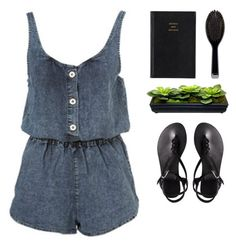 """""""{ Heartbreaker }"""" by cris-love ❤ liked on Polyvore featuring Topshop, ASOS, Prada and GHD"""
