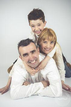 Fotografía familia | Sesión fotos hijos | Fotos en estudio