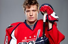 So, this is my husband. He is 14 years older than me, yes, but love doesn't know age ;) . Lol but I really do love him. It's Alexander Semin and he plays for the Washington Capitals Hockey team. And yes, his name is 'Semin' but it is NOT pronounced semen as so many of my classmates seem to think.  But yeah... I love him.