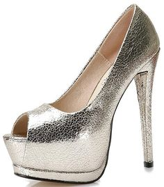 Garyline Womens Peep Toe Platform Pump Party Pumps Wedding Stiletto High Heels -- You can find out more details at the link of the image. (Amazon affiliate link)