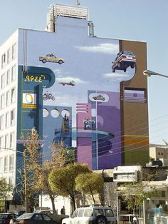 Vibrant and Playful Murals Brighten Up the Streets of Tehran - My Modern Metropolis
