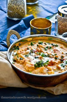 When I was in India this time, the cook at my parents' place made this amazing shahi paneer dish at a party that my parents hosted. Now, I have made shahi paneer in the past from a recipe my … Paneer Recipes, Indian Food Recipes, Ethnic Recipes, Ethiopian Recipes, Savoury Recipes, Veggie Recipes, Garam Masala, Paneer Dishes, Gourmet