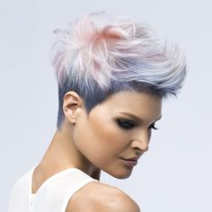 The beauty of a pixie lies in its versatility, and this cut by Kenra Professional's Mirella Manelli and Emily Anderson delivers with a stacked back and flexible length on top. This is just one cut you can learn at Kenra's #InfluentialDesigns classes, where you get hands-on with coloring, cutting and styling. Check out the steps! … Continued
