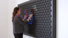 Everbright, A Device Made up of Adjustable Color Dials That Let Users Create Abstract Patterns