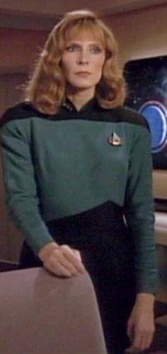 I want to be Beverly Crusher next Halloween.  Star Trek The Next Generation Womens Uniform Jacket