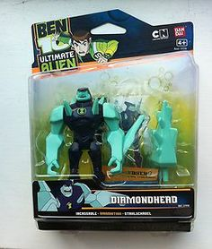 "ben 10 ultimate alien toys   Diamondhead 10cm Figure Ben 10 Alien New 4"" Bandai   eBay"