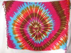 tie dye swirl mixed dolors sarong cheap swimwear for women $5.25 - http://www.wholesalesarong.com/blog/tie-dye-swirl-mixed-dolors-sarong-cheap-swimwear-for-women-5-25/