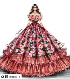 Discover recipes, home ideas, style inspiration and other ideas to try. Dress Design Drawing, Dress Design Sketches, Fashion Design Sketchbook, Fashion Design Drawings, Dress Drawing, Dress Illustration, Fashion Illustration Dresses, Fashion Illustrations, Fashion Model Sketch