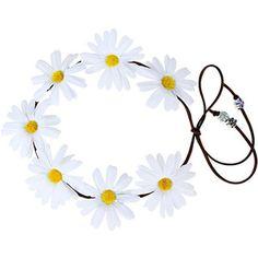 Yoins Pastoral Wreath Tying Headband in Daisy